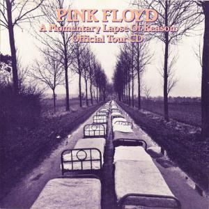 Pink Floyd A Momentary Lapse Of Reason Official Tour CD album cover