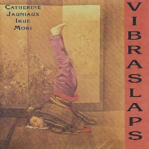 Catherine Jauniaux - Vibraslaps  (with Ikue Mori) CD (album) cover