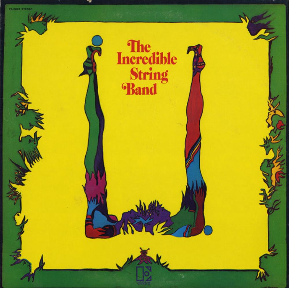 The Incredible String Band - U CD (album) cover