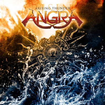 Angra - Arising Thunder CD (album) cover