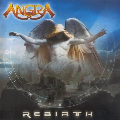 Rebirth by ANGRA album cover