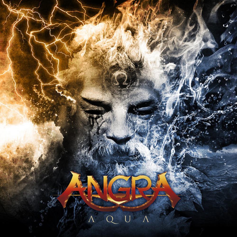 Aqua by ANGRA album cover
