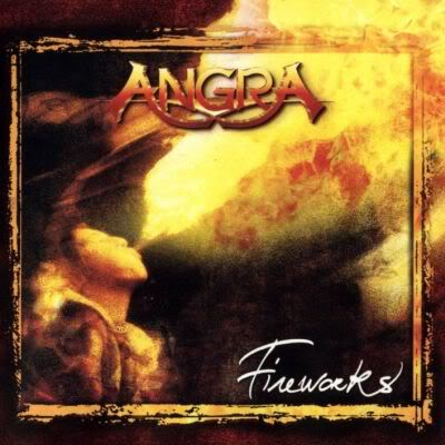 Angra - Fireworks CD (album) cover