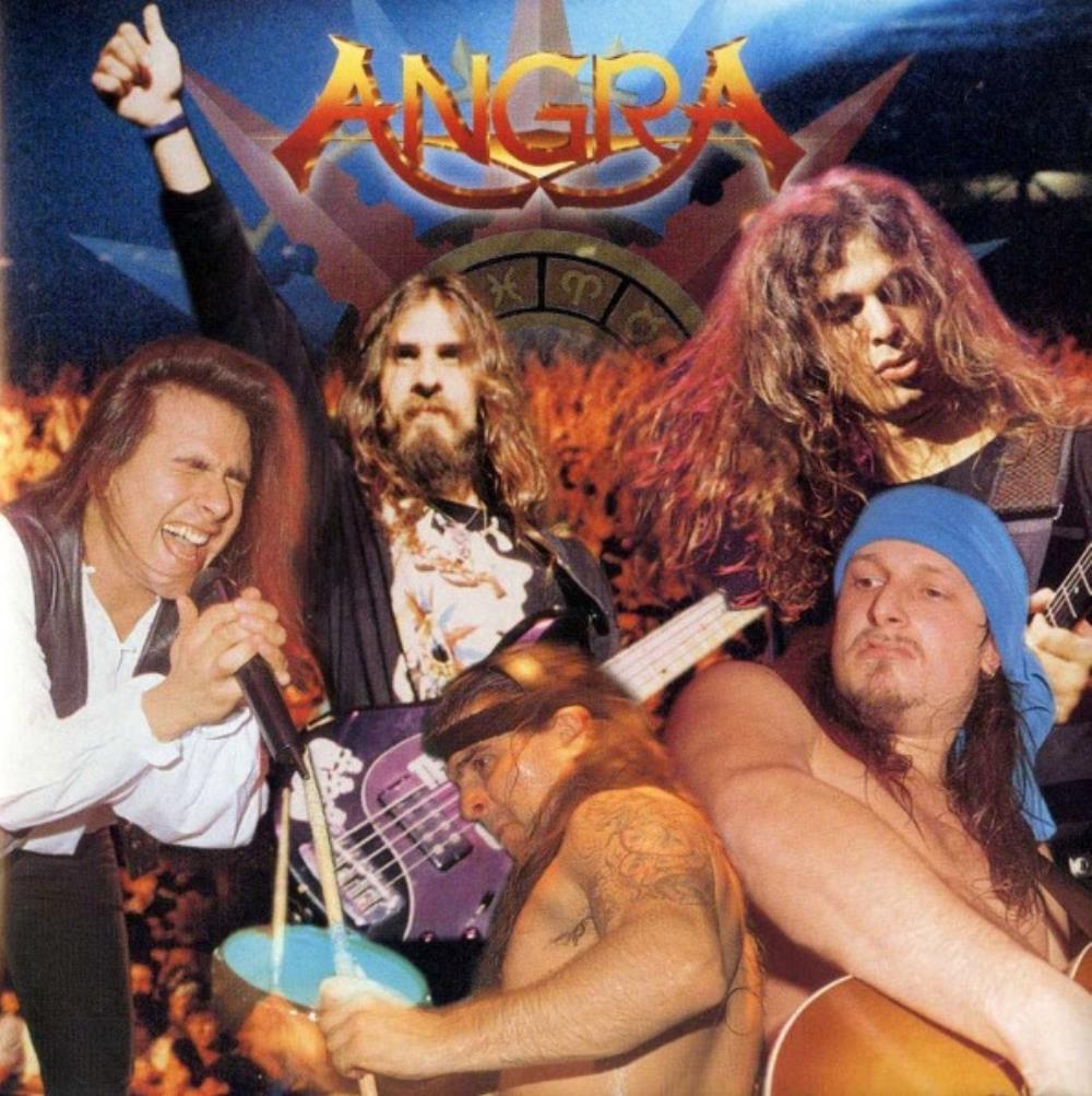 Holy Live by ANGRA album cover