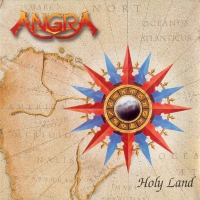 Angra - Holy Land CD (album) cover
