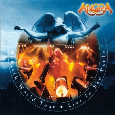 Angra Rebirth World Tour album cover