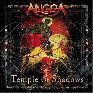 Angra - Temple Of Shadows CD (album) cover