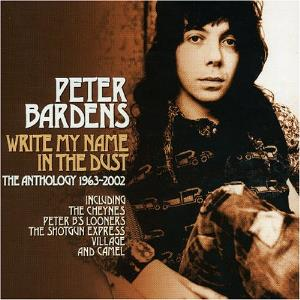 Peter Bardens - Write My Name In The Dust CD (album) cover