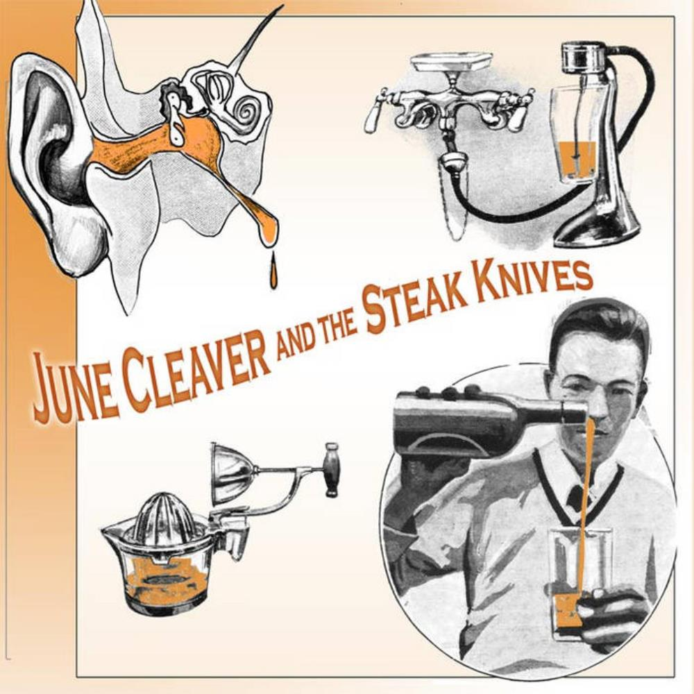 Auricular Peculiar by JUNE CLEAVER AND THE STEAK KNIVES album cover