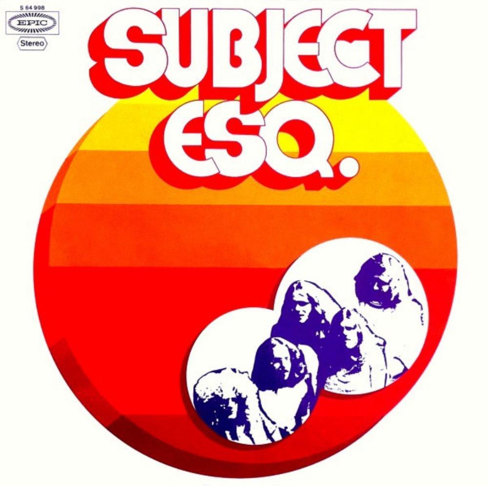 Subject Esq. by SAHARA album cover