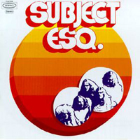 Sahara - Subject Esq. CD (album) cover