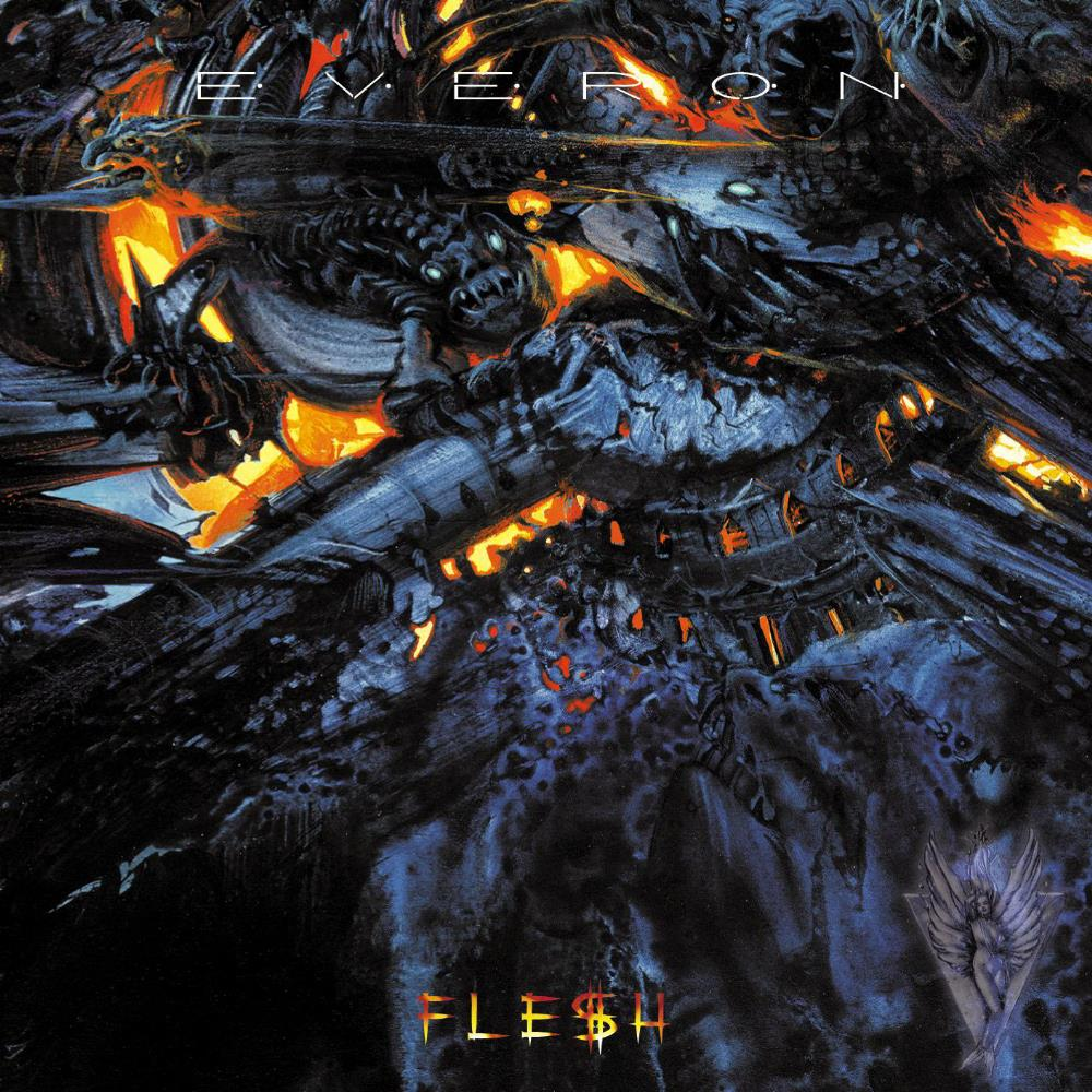 Everon - Flesh CD (album) cover