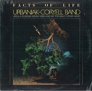 Michal Urbaniak - Facts Of Life (as Urbaniak Coryell Band) CD (album) cover