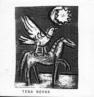 Tena Novak - Tena Novak CD (album) cover