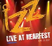 Izz Live at Nearfest album cover