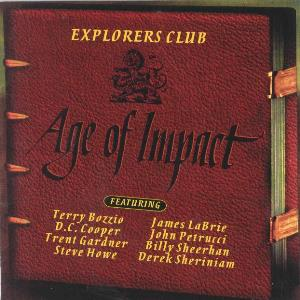 Explorers Club - Age Of Impact CD (album) cover