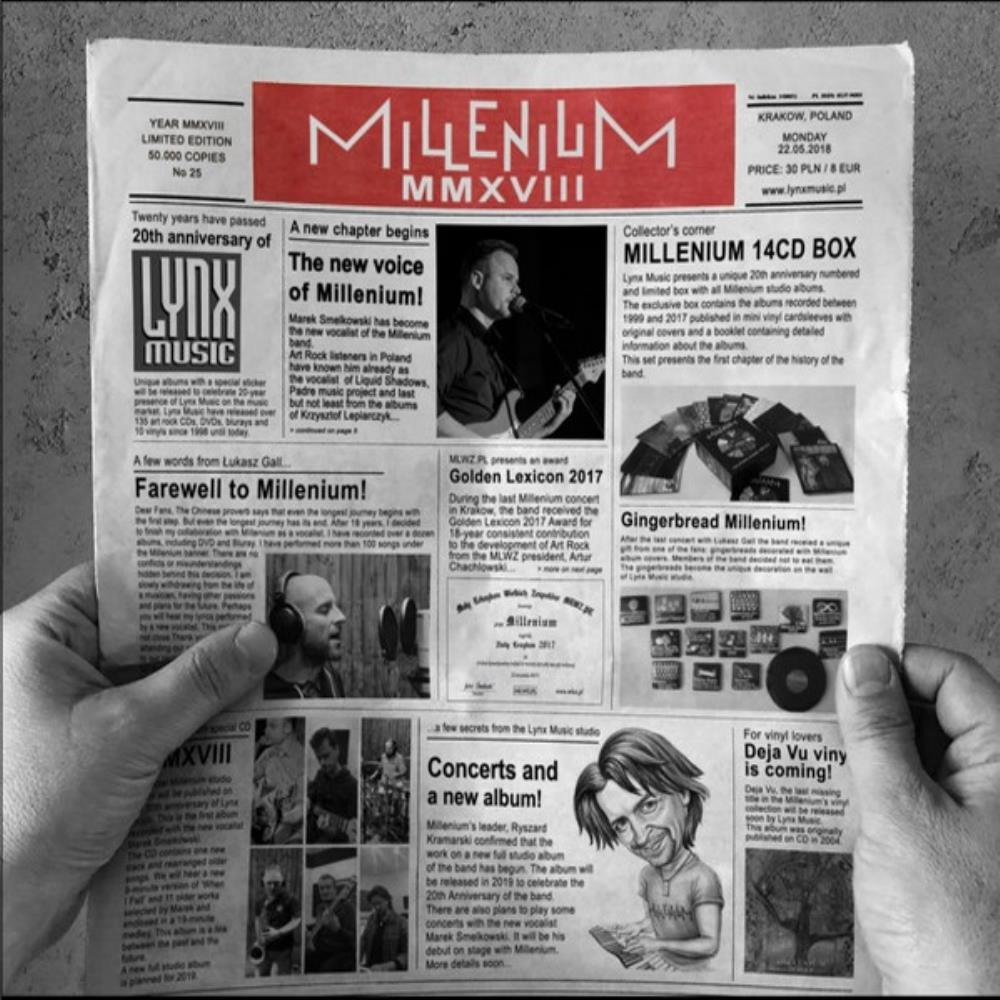 Millenium - MMXVIII CD (album) cover