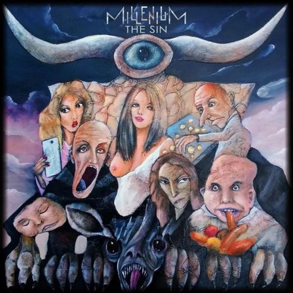The Sin by MILLENIUM album cover