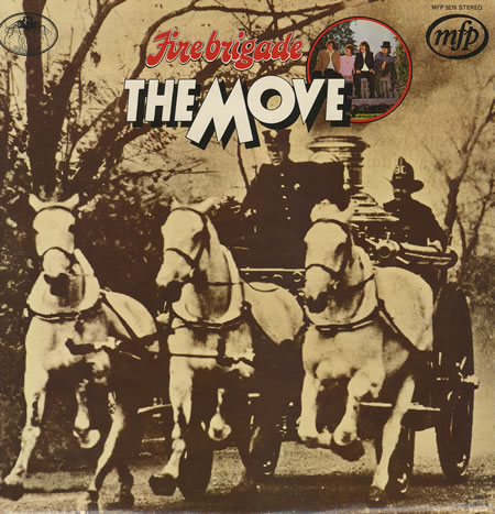 Fire Brigade by MOVE, THE album cover