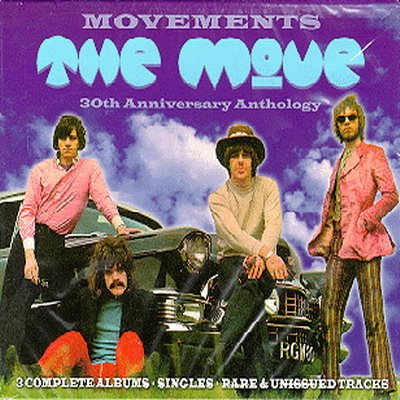 Movements, 30th Anniversary Anthology by MOVE, THE album cover