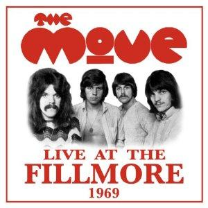 Live at the Fillmore 1969 by MOVE, THE album cover