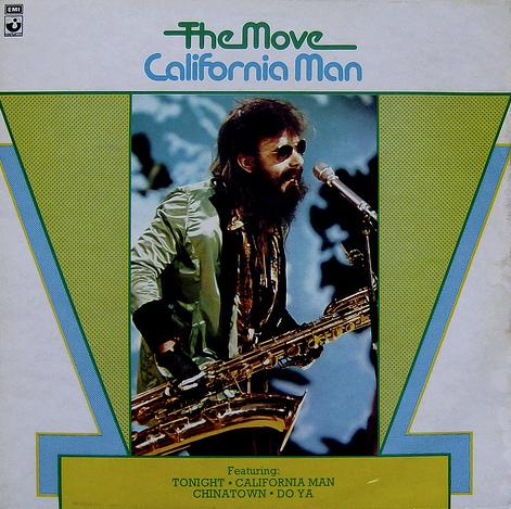 California Man by MOVE, THE album cover
