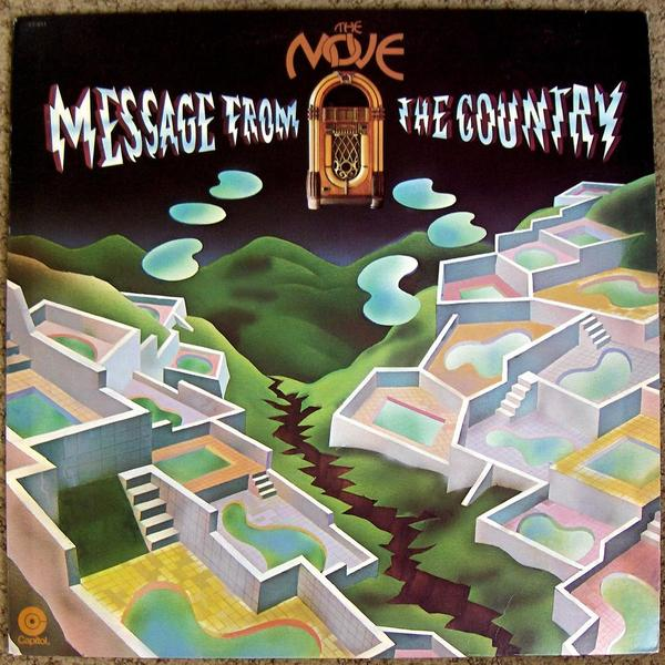 Message From the Country by MOVE, THE album cover
