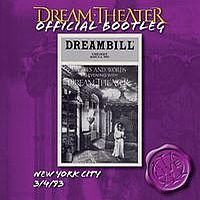 New York City 3/4/93 by DREAM THEATER album cover
