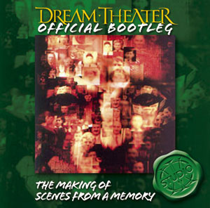 Dream Theater - The Making Of Scenes From A Memory CD (album) cover