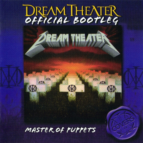 Dream Theater Master Of Puppets album cover