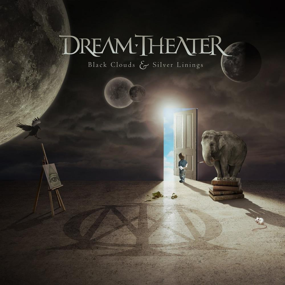Black Clouds & Silver Linings by DREAM THEATER album cover