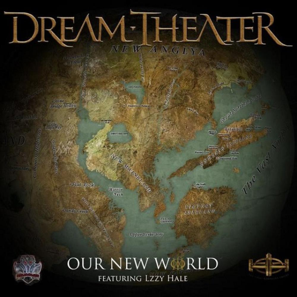 Dream Theater Our New World album cover