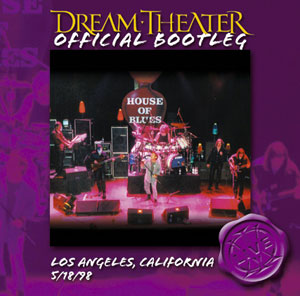 Dream Theater - Los Angeles, California 5/18/98 CD (album) cover