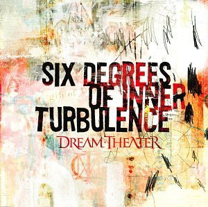 Dream Theater - Six Degrees Of Inner Turbulence  CD (album) cover