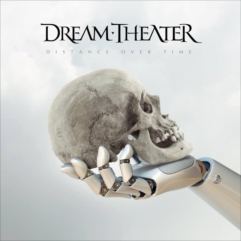Distance Over Time by DREAM THEATER album cover