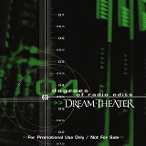 Dream Theater 4 degrees of Radio edits  album cover