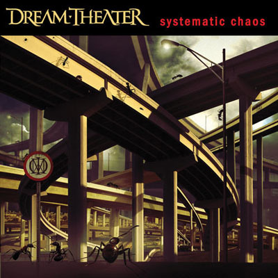 Dream Theater - Systematic Chaos CD (album) cover