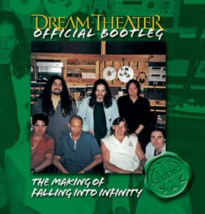 Dream Theater The Making of Falling into Infinity album cover