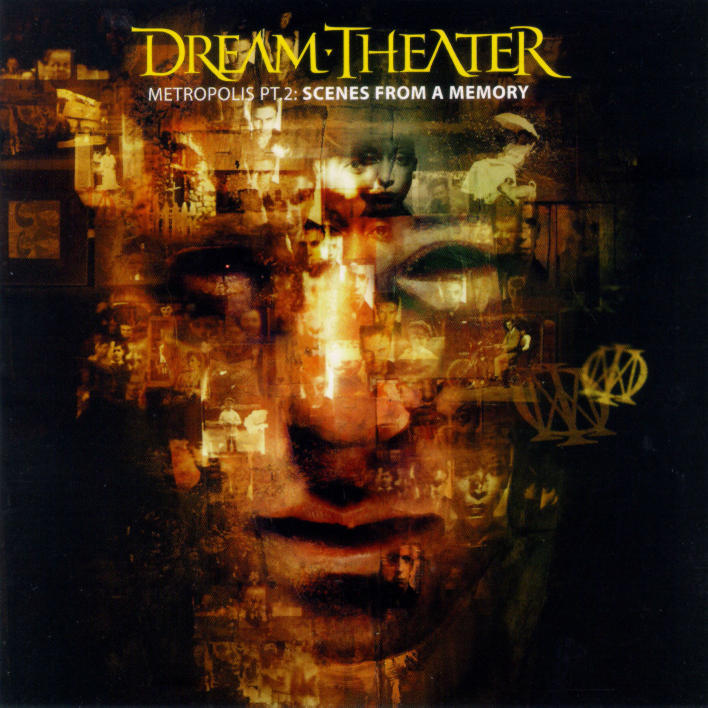 Dream Theater - Metropolis Part 2 - Scenes from a Memory CD (album) cover