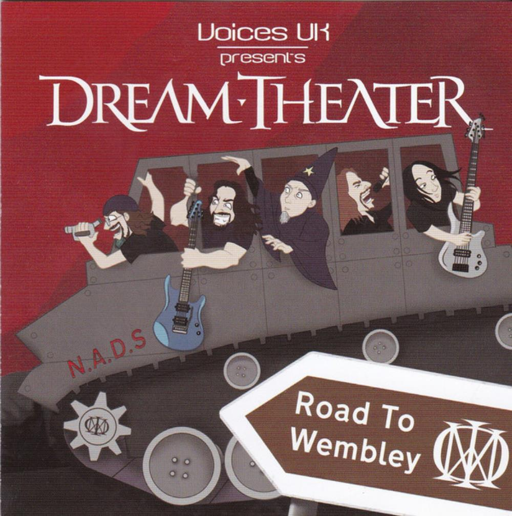 Dream Theater Road to Wembley album cover