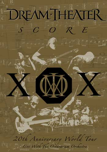 Dream Theater - Dream Theater - Score: 20th Anniversary World Tour Live with the Octavarium Orchestra CD (album) cover