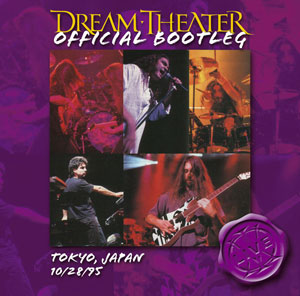 Tokyo, Japan 10/28/95 by DREAM THEATER album cover