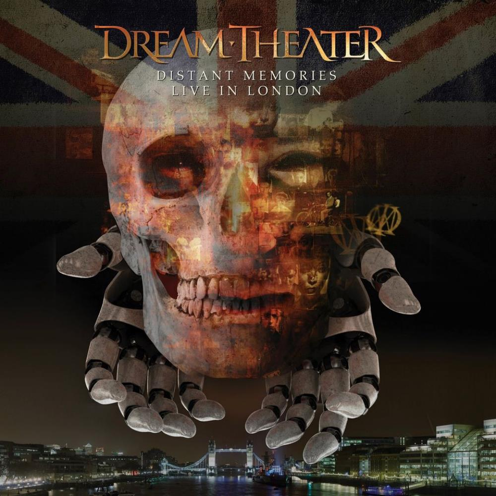 Distant Memories - Live in London by Dream Theater album rcover