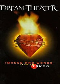 Dream Theater Images And Words - Live In Tokyo  album cover