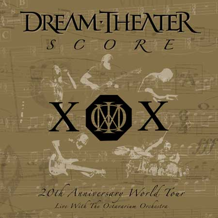 Dream Theater - Score: 20th Anniversary World Tour Live with the Octavarium Orchestra CD (album) cover