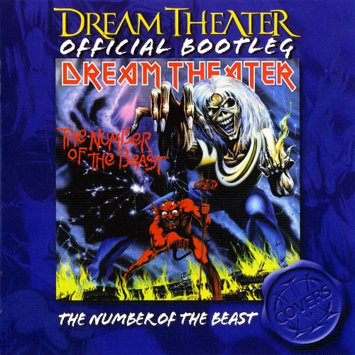 The Number Of The Beast by DREAM THEATER album cover
