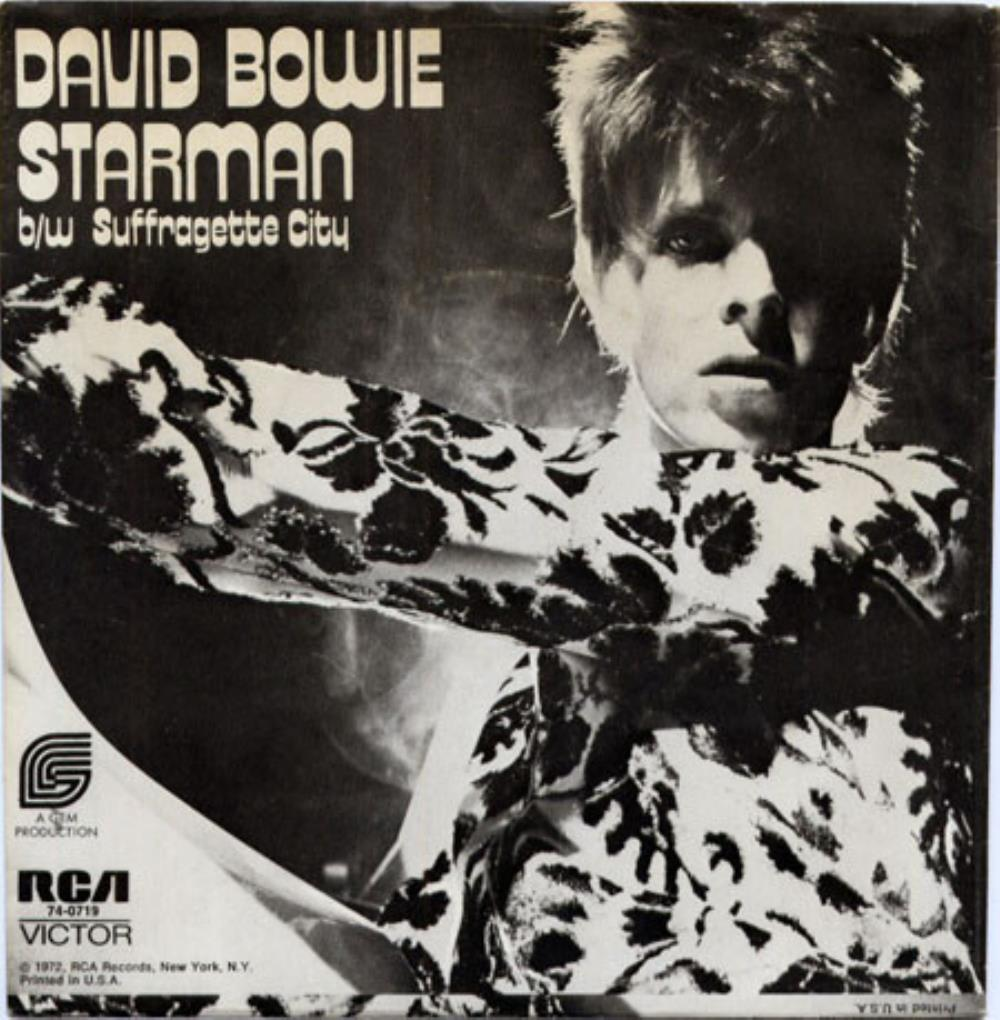 David Bowie - Starman / Suffragette City CD (album) cover