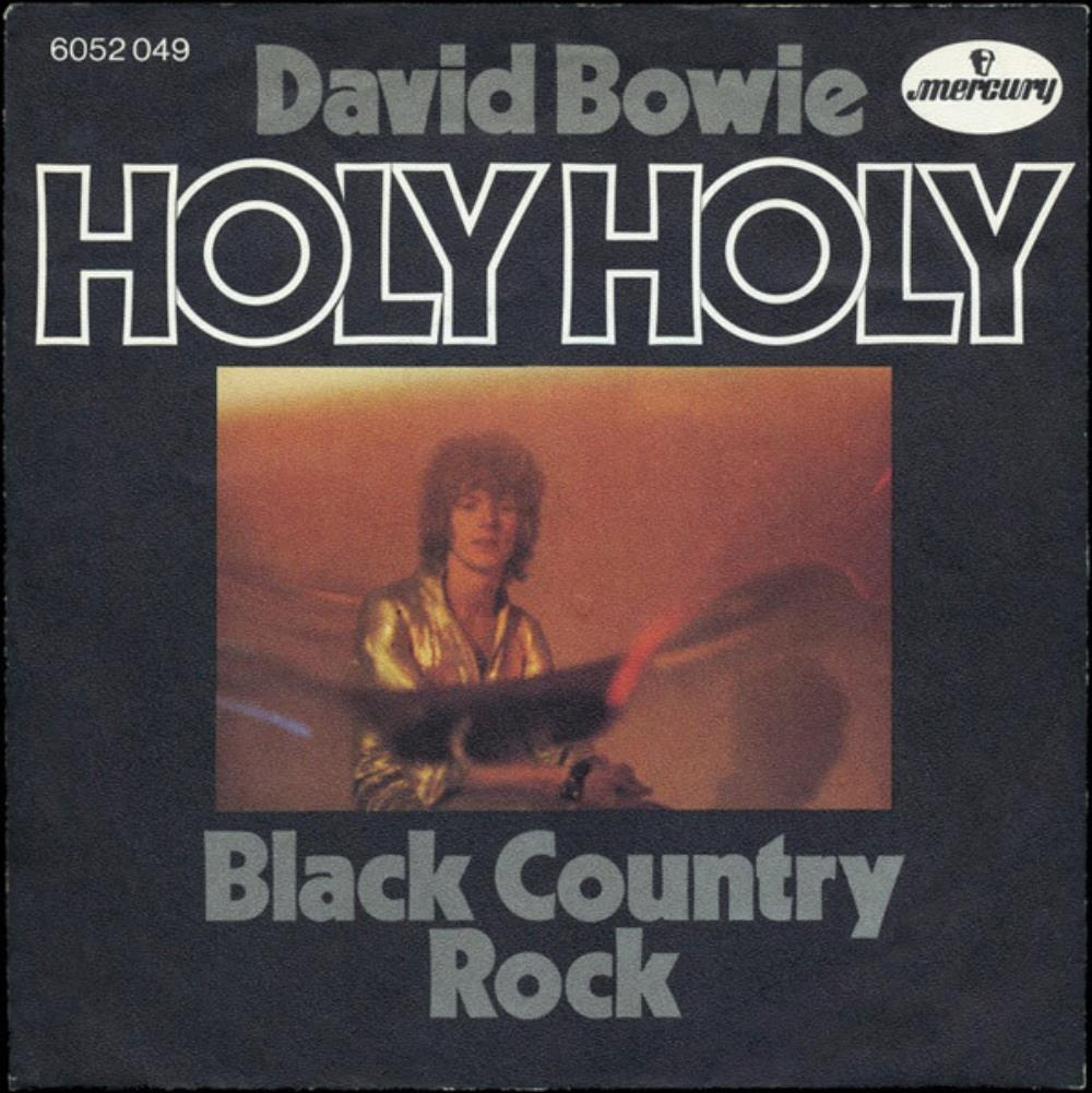 David Bowie Holy Holy album cover