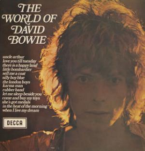 David Bowie The World Of David Bowie album cover