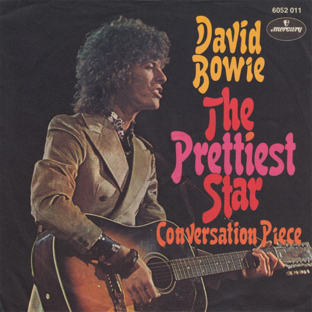 David Bowie - The Prettiest Star CD (album) cover